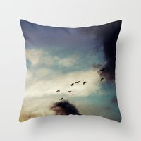 For Love Of Sky Throw Pillow