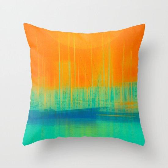 Marina Dream Throw Pillow