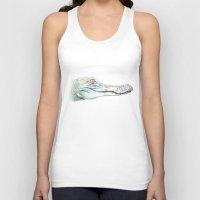 Albino Alligator Unisex Tank Top