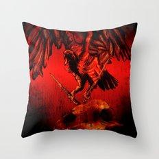 SWITCHBLADE VULTURE Throw Pillow