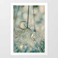 Fairy Blue II Art Print