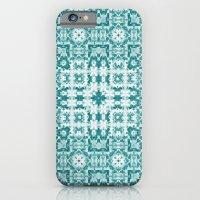 Aquatica Teal Kaleido iPhone 6 Slim Case