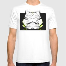 :: black holes and revelations :: double play! SMALL White Mens Fitted Tee
