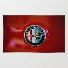 Alfa Romeo Rug