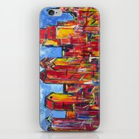 Philly Skyline iPhone & iPod Skin