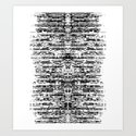 (this)Integrate Art Print