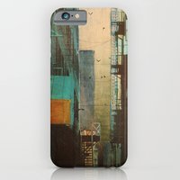 orange iPhone & iPod Cases featuring ESCAPE ROUTE by Liz Brizzi