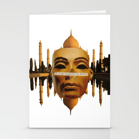 Symmetrical Forces Stationery Card