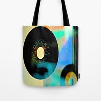 Nothing Sounds Like Vinyl Tote Bag