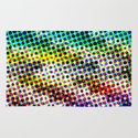 Halftone Color Chart Rug