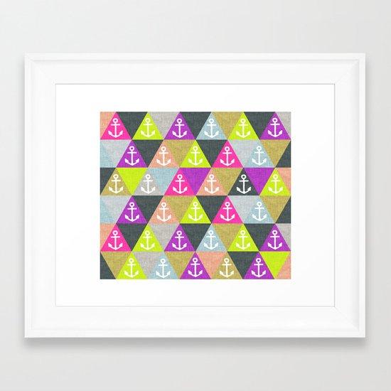 Ahoi! Framed Art Print