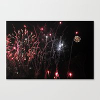 ~ Let The Sparks Fly~ Canvas Print