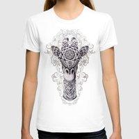 giraffe T-shirts featuring Giraffe by BIOWORKZ