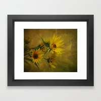 Let The Sun Shine Framed Art Print