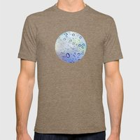 The Raindrops Mens Fitted Tee Tri-Coffee SMALL