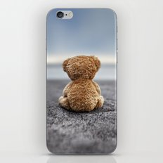 Teddy Blue iPhone & iPod Skin