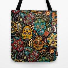 Calavaras - Day of the Dead Skulls Tote Bag