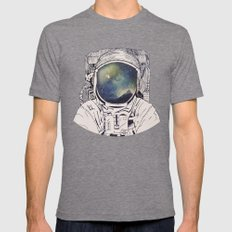 Dreaming Of Space Mens Fitted Tee Tri-Grey SMALL