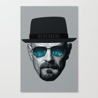 Breaking Bad Heisenberg Canvas Print