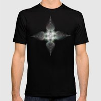 Four Feathers Mens Fitted Tee Black SMALL