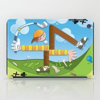 Fore of Clubs iPad Case