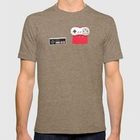 Let's Be Super Together Mens Fitted Tee Tri-Coffee SMALL