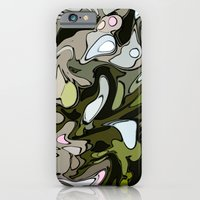 Out in the woods iPhone 6 Slim Case