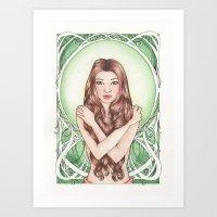 Green Art Print