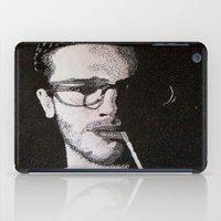 John Frusciante Pointillism Portrait iPad Case