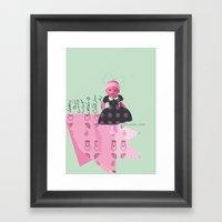Baby Born Framed Art Print