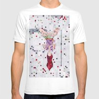 Sara And The Universe Mens Fitted Tee White SMALL