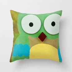 whoo? Throw Pillow