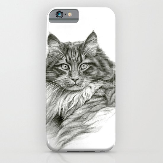 Ginger Cat G2012-052 iPhone & iPod Case
