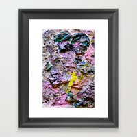 Yellowing Framed Art Print