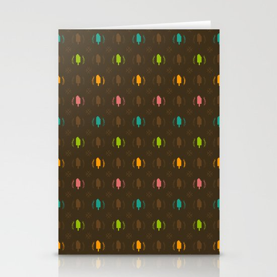 Fudge Color Stationery Card