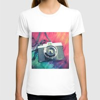 Diana F+ Womens Fitted Tee White SMALL