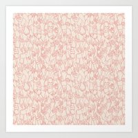 A Plethora Of Relaxed Ha… Art Print