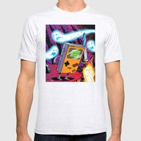 The Legend Of Gameboy Mens Fitted Tee Ash Grey SMALL