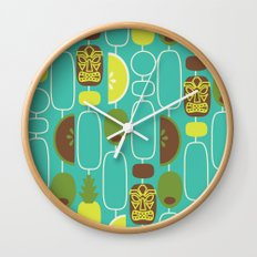 Tiki Weekend Wall Clock