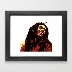the god of reggae Framed Art Print