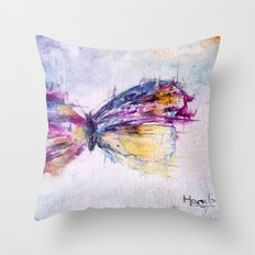 flutterby Throw Pillow