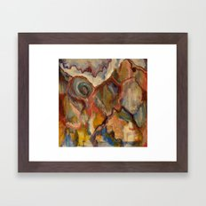 The Grand View Framed Art Print