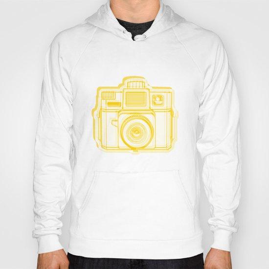 I Still Shoot Film Holga Logo - Reversed Yellow Hoody