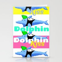 Dolphin Kiss Stationery Cards