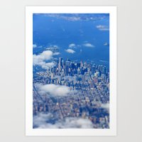 Tiny Manhattan Art Print