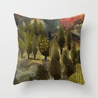 The hill. Throw Pillow