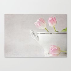 soup of tulips Canvas Print