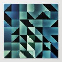 :: geometric maze VII :: Canvas Print
