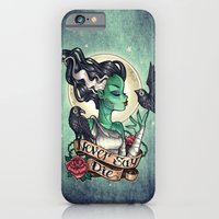 iPhone & iPod Case featuring Never Say Die by Tim Shumate