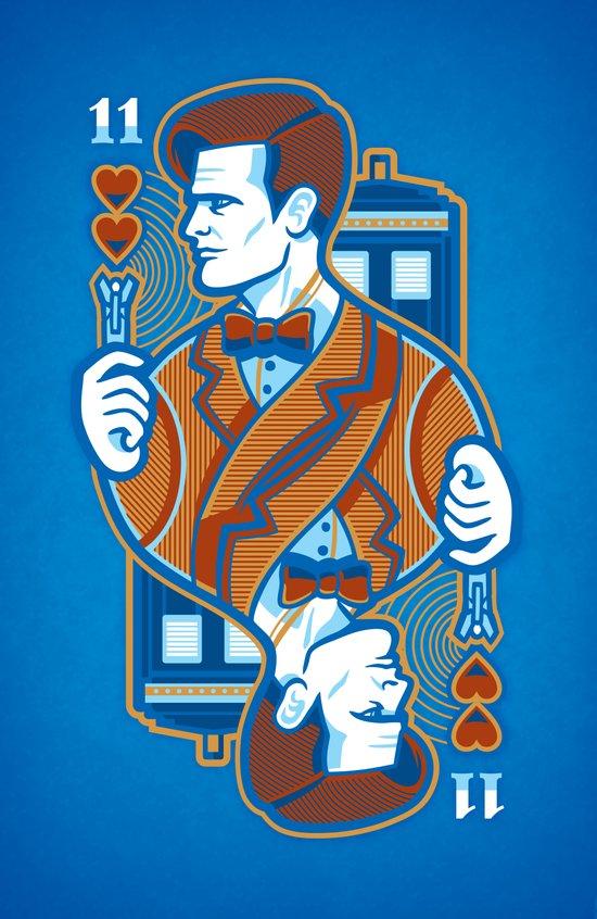 11th of Hearts Art Print